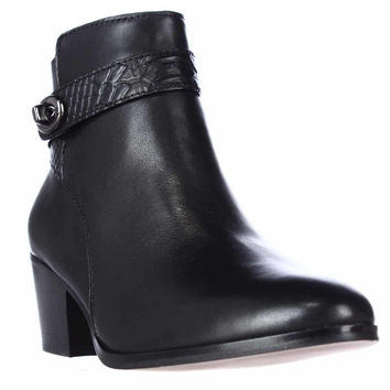 Coach Patricia Ankle Boots Booties - Black