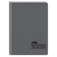Gray 5X7 Writing Journal - New England Patriots