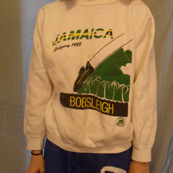 Jamaica Bobsleigh Team Sweatshirt, Olympics '88