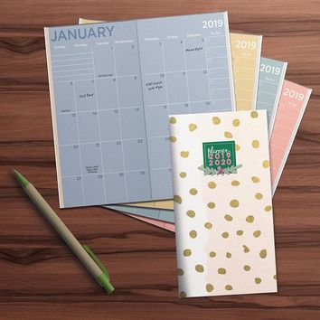 Gold Dots Planner