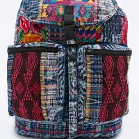 Stella 9 Santiago Patchwork Backpack in Blue - Urban Outfitters