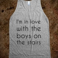 I'm in love with the boys on the stairs - Fandom Apparel