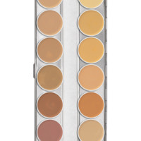 Dermacolor 75004 Camouflage Creme Palette 12 Colors - Combination Sets & Palettes - Makeup