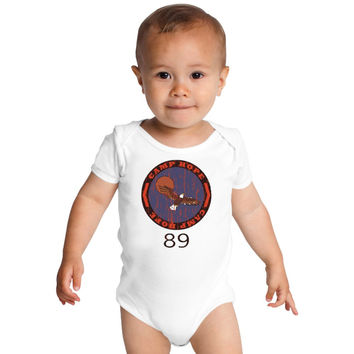 Heavyweights - Camp Hope 89  Baby Onesuits