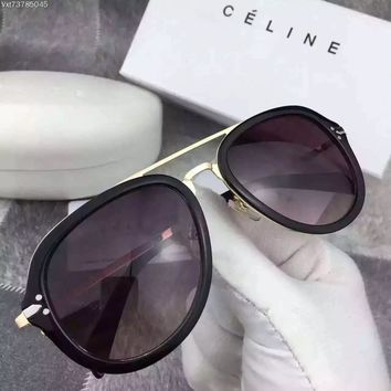 Celine 41373/s Anw Black Gold 41373/s Round Sunglasses | Best Deal Online