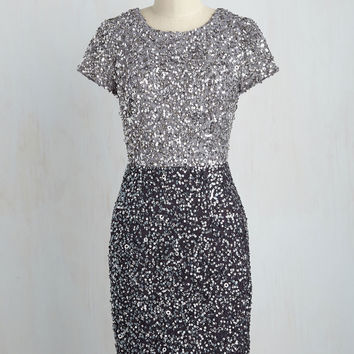 Draw a Shine in the Sand Sequin Dress | Mod Retro Vintage Dresses | ModCloth.com