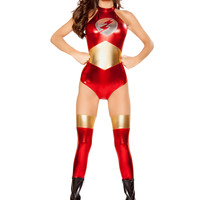 Roma Costume - 1pc Speedster Vixen