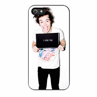 Harry Styles Love You One Direction iPhone 5s Case