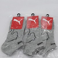 PUMA Woman Men Cotton Socks