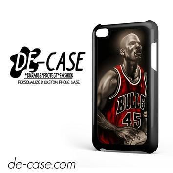 Michael Jordan Poster DEAL-7162 Apple Phonecase Cover For Ipod Touch 4