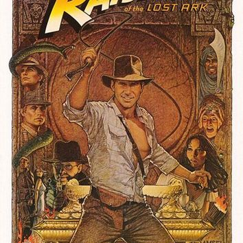 Raiders of the Lost Ark Return of Great adventures American Vintage Poster Canvas Painting DIY Wall Art Home Bar Posters Decor