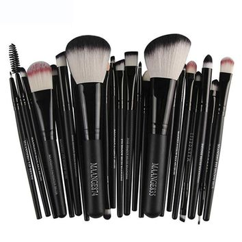 New design Professional 22Pcs/Set Makeup Brush Tools Make-up Toiletry Kit Wool Make Up Brush Set Tools Products For Wome 2017 o1