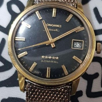 ONETOW VINTAGE LONGINES ADMIRAL 5 STAR AUTOMATIC WATCH