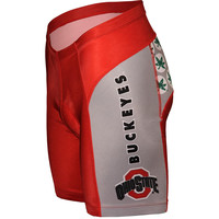 Ohio State Buckeyes NCAA Flat Seam Cycling Shorts
