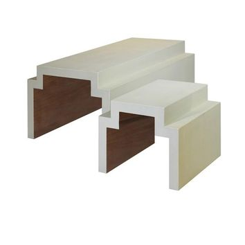 Kelsey Large Nesting Coffee Table Cream