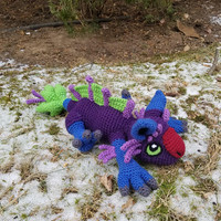 World of Warcraft Inspired: Marsuul Amigurumi (Crochet Plushie/Plush Toy) - All colors Available! - MADE TO ORDER!