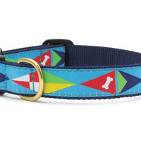 Sail Flags Dog Collar