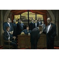 GANGSTERS POSTER Mafia Scarface Godfather Casino RARE HOt NEW 24x36