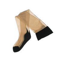 L'Agent Womens Sheer Solid Thigh-High Stockings