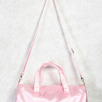 Satin Duffle Bag