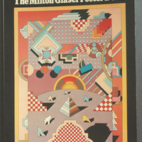 Milton Glaser Poster Book - Mid Century Modern Graphic Design Collection