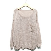 Sweater - Wood - Sweaters & Cardigans - Women - Modekungen | Clothing, Shoes and Accessories
