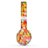 The Candy Corn Skin Set for the Beats by Dre Solo 2 Wireless Headphones