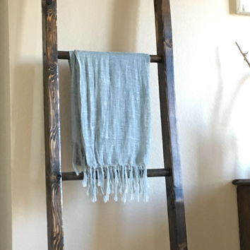 Blanket Ladder, Wooden ladder, Decorative Ladder
