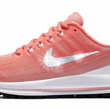 Nike Air Zoom Vomero 13 + Crystals - Light Atomic Pink