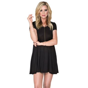 Made For Me Jersey Dress In Black