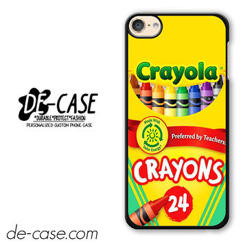 Crayola Crayons Colorful DEAL-2841 Apple Phonecase Cover For Ipod Touch 6