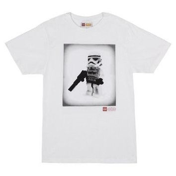 LEGO Star Wars Stormtrooper Logo Official Licensed Adult Unisex T-Shirt - XL