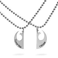 Star Wars Rebel Alliance Love Necklace