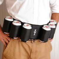 Personalized Joe Sixpack Beer Belt