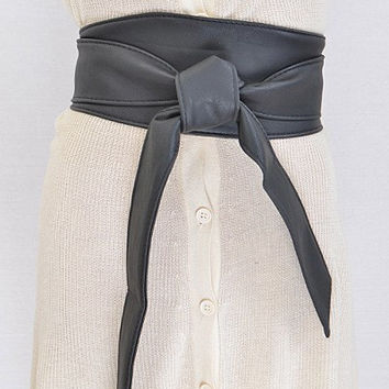 Wrap Bow Belt