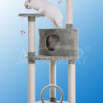 Armarkat Premium Cat Tree Model X6001 - Dark Seagreen