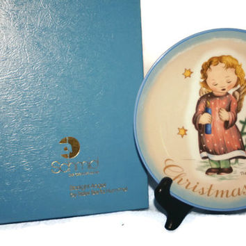 Schmid Plate, Christmas 1979, Collectible vintage, home decor, Collector Plate