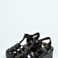 Jess Jelly Fisherman Wedge