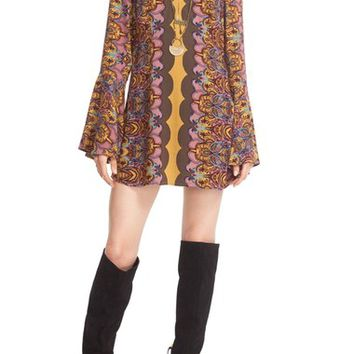 Free People 'Ossie Vibes' Bell Sleeve Tunic | Nordstrom