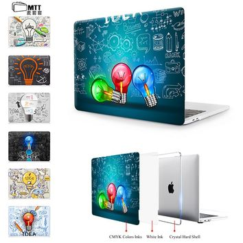 MTT for MacBook Pro 13 Case Pro 15 A1707 Touch Bar Creative Bulb Cover for Apple Mac book Air Pro Retina 11 12 13.3 15 inch