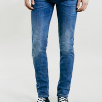Mid Wash Blue Stretch Skinny Jeans - New This Week - New In