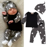 Deer & Antler - 3 Piece Clothing Set
