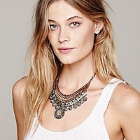 Free People  Moss Mesh Link Collar at Free People Clothing Boutique