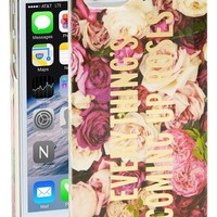 kate spade new york 'everything's coming up roses' iPhone 5 & 5s case