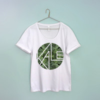 kale women big tee