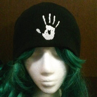 Skyrim Inspired Dark Brotherhood beanie skull cap