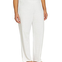 Blue by Betsey Johnson Plus Baby Terry Pants - White