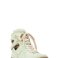 Sugar Town Cutout Sneakers