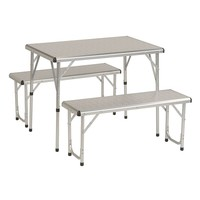 Coleman Pack-Away Picnic Table (White)