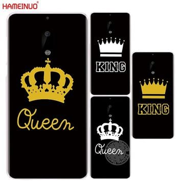 Cool HAMEINUO King Queen YOUR MINE cover phone case for Nokia 9 8 7 6 5 3  Lumia 630 640 640XL 2018AT_93_12